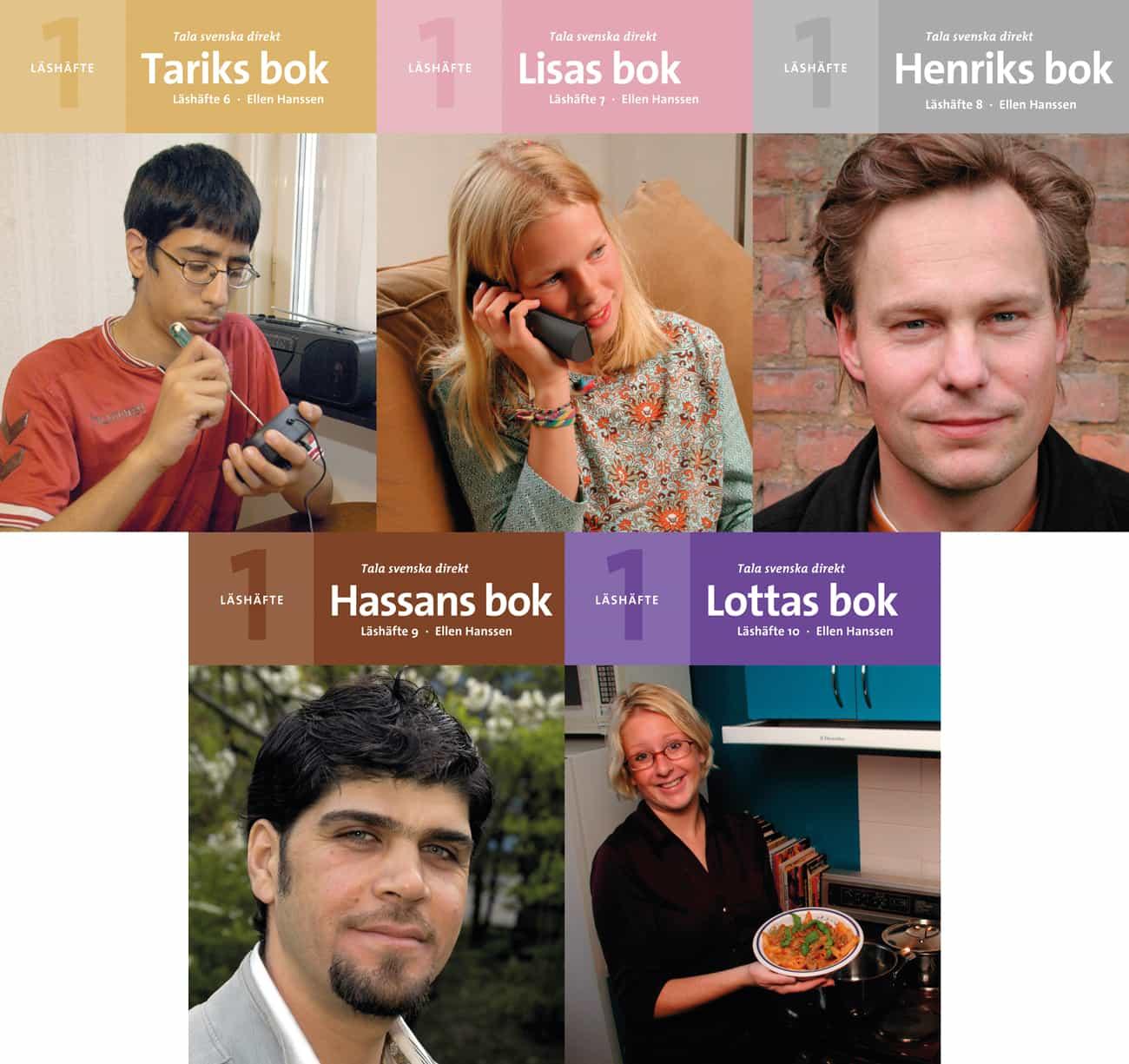 Tala svenska direkt Läshäfte 6-10 av Ellen Hanssen